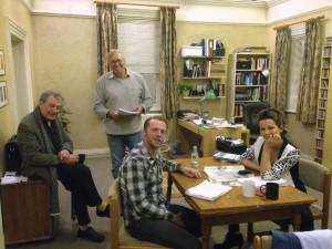 Terry,Gus,Simon & Kate
