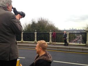 terry on bridge