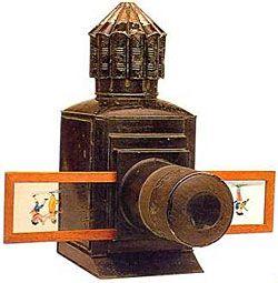 magic lantern with slides